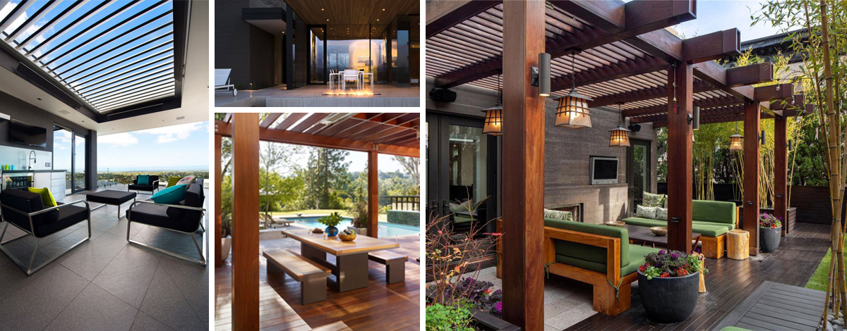 Ecocivil construcci n outdoor for Pergolas para piscinas
